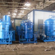 Protection of the water preparatory equipment and the process equipment of chemical manufactures